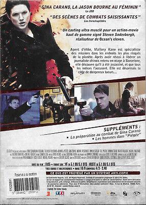 DVD : PIÉGÉE  [ Gina Carano, Michael Fassbender, Ewan McGregor ] NEUF cellophané 3