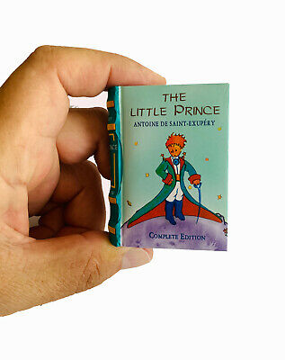 The Little Prince In English Miniature Book Hardbound Color Pages Ribbed Spine 9 99 Picclick