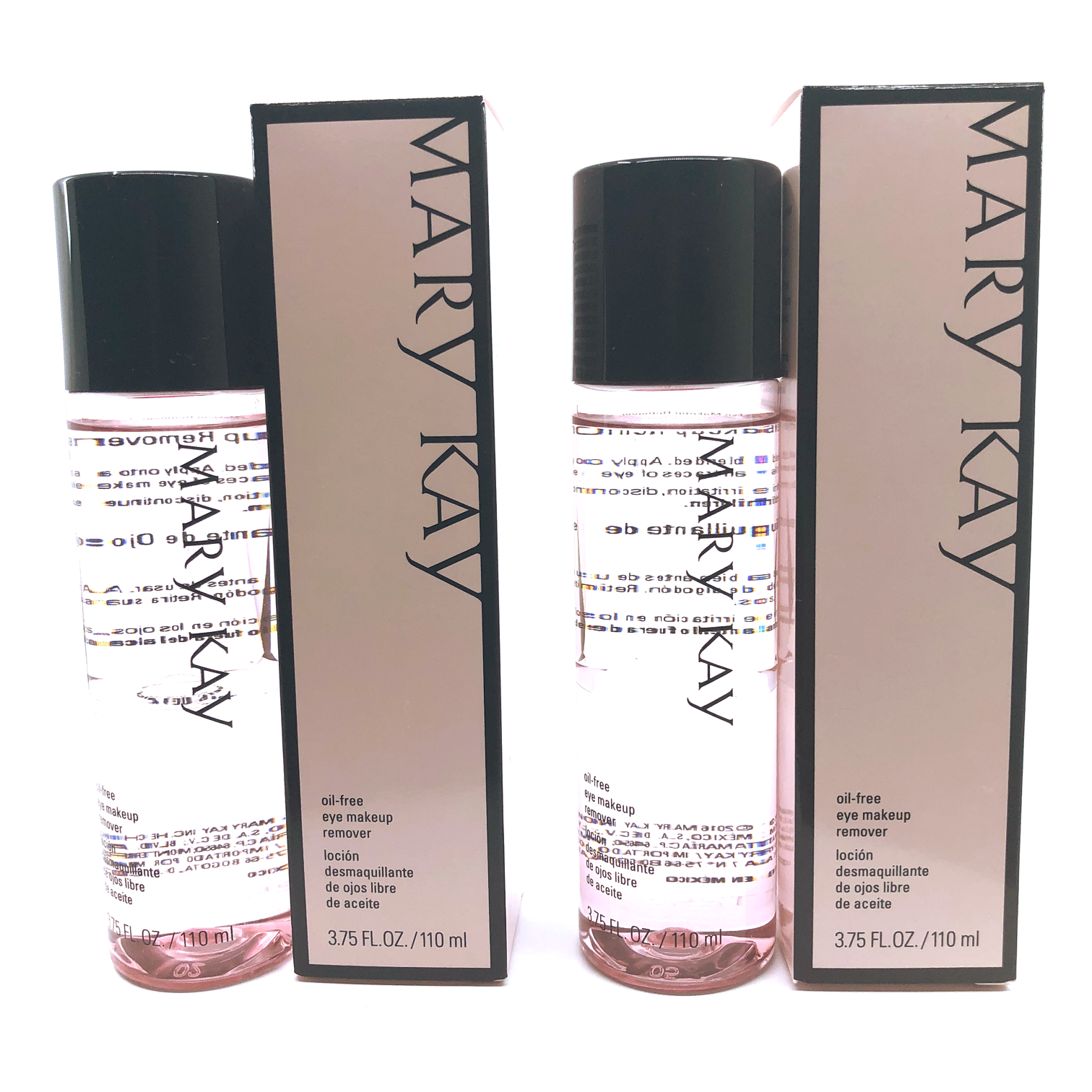 Mary Kay Oil-Free Eye Makeup Remover- 3.75 fl. oz. (2 PACK) FREE SHIPPING 3