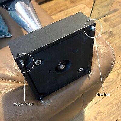 8x Bang /& Olufsen BeoLab 8000 Compatible Speaker Base Screw-in Domed Bolt Feet