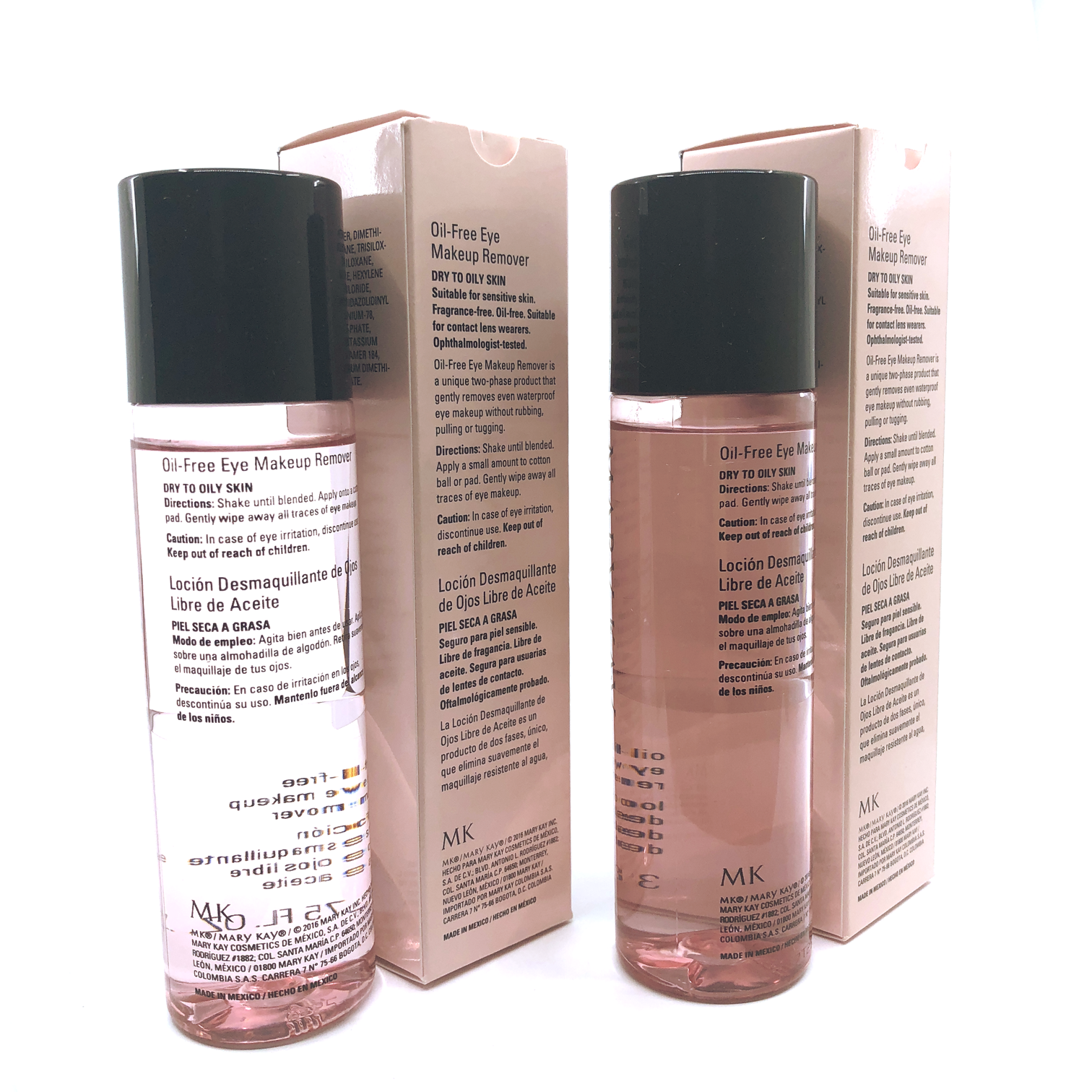 Mary Kay Oil-Free Eye Makeup Remover- 3.75 fl. oz. (2 PACK) FREE SHIPPING 4