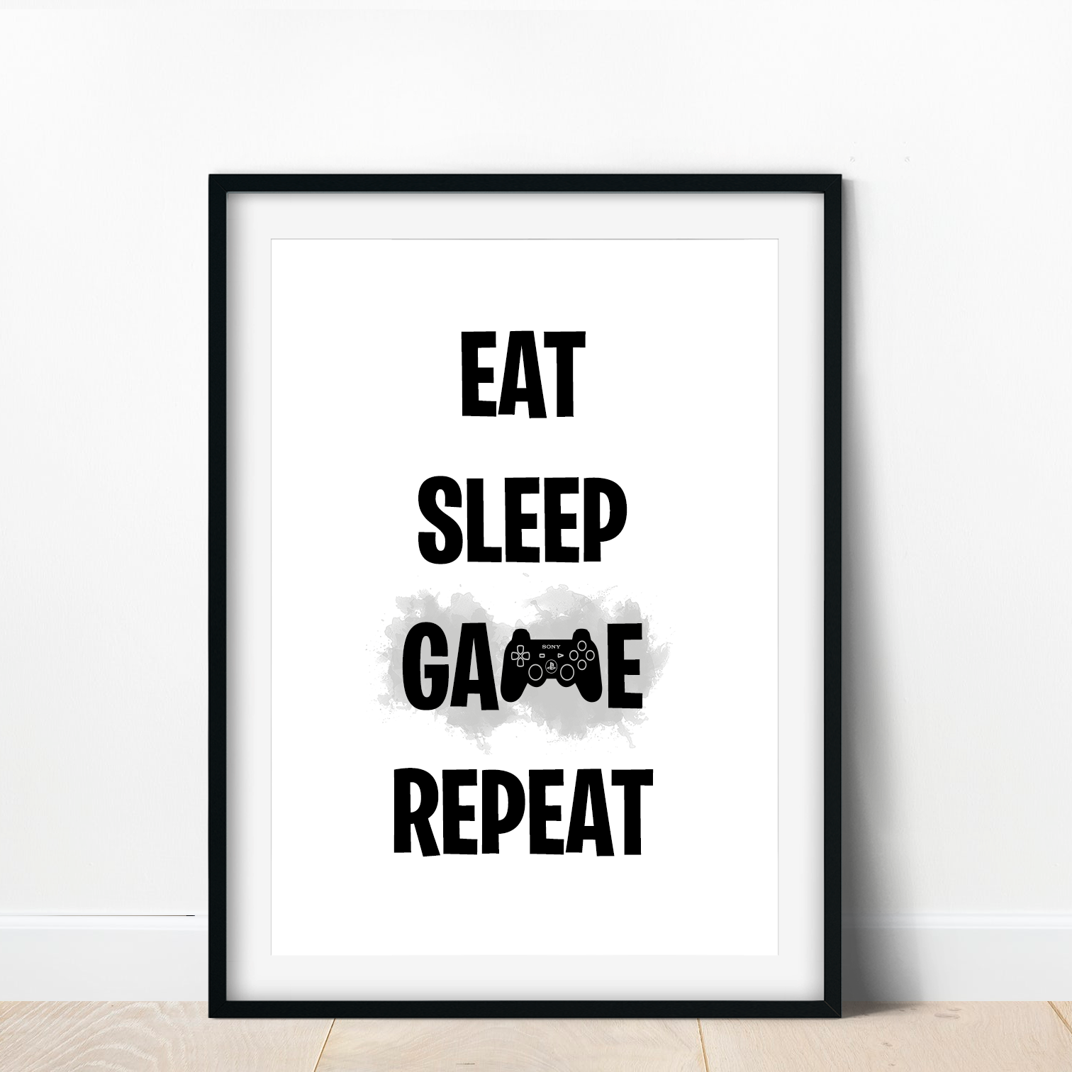 Gaming Boys Bedroom prints / Games Room Wall Art / Gamer Gifts / Gaming Poster 4