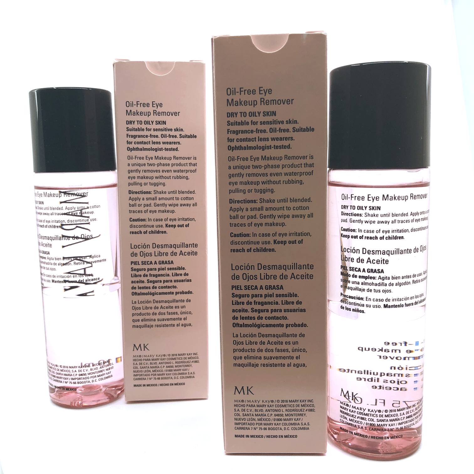 Mary Kay Oil-Free Eye Makeup Remover- 3.75 fl. oz. (2 PACK) FREE SHIPPING 5