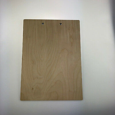 Menu Clipboard Birch Plywood Customisable Wooden 5
