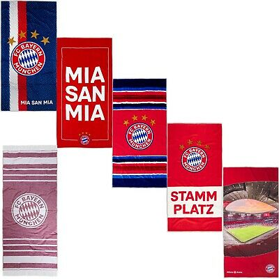 FC Bayern M/ünchen Stammplatz Strandtuch