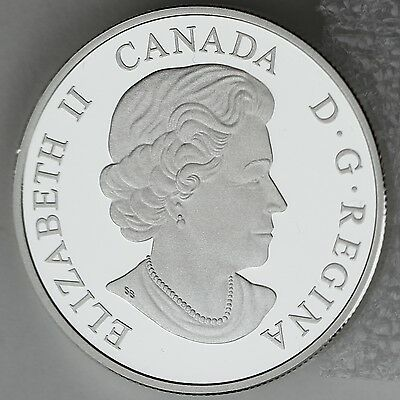 Canada 2014 Lake Ontario $20 1 oz Pure Silver Enameled Proof Coin Great Lakes #2 3