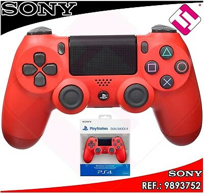 Mando Ps4 Dualshock Color Rojo Magma Original Playstation 4 Sony Red Magma 3