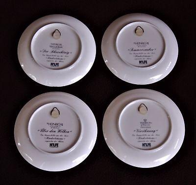 Piatti In Ceramica Per Bambini.Villeroy Boch Serie Completa Di 4 Piatti In Ceramica I Sogni Dei Bambini
