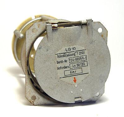 Fassung zur LG10 / LG 10 Wehrmacht-Röhre, Marmeladenglas, Röhrenfassung F 2101