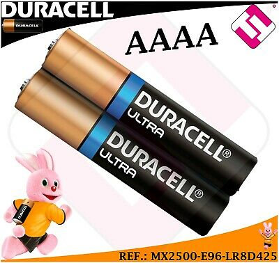 Lot De Pile 2 Unités Duracell Mx2500 E96 Lr8D425 Tension 1,5 Volts Alcaline 2