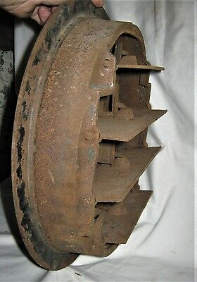 Antique Usa Architectural Home Cast Iron Heating Floor Register Vent Grate Lock 6