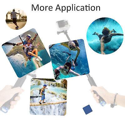 Selfie Pole Extendable Telescopic Monopod Stick for GoPro Hero 5 4 3+ 3 2 Camera 8