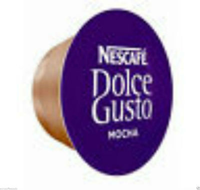 50 x DOLCE GUSTO MOCHA COFFEE PODS ONLY (NO MILK PODS) 3