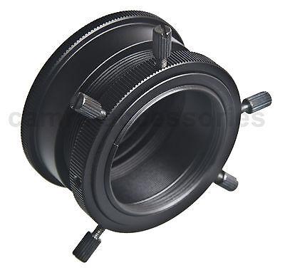 Universal Adapter Canon FD Minolta MD M39 Lens to Sony E mount NEX Alpha camera 5