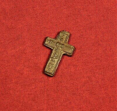 Nice Medieval Cross Pendant, 15. Century 2