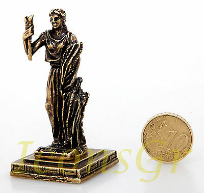 Ancient Greek Miniature Olympian God Pantheon Sculpture Statue Zamac Demeter G