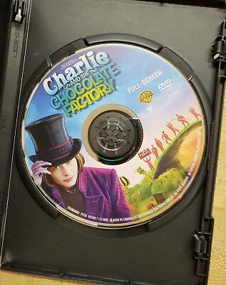 Charlie and the Chocolate Factory (DVD, 2005, Full Screen) 2