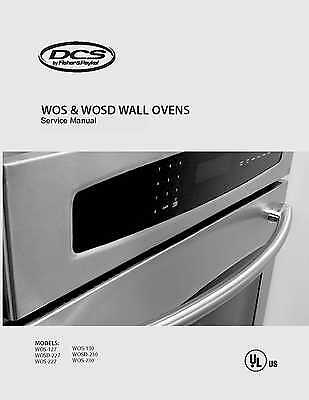 Repair manual: dcs fisher & paykel ranges & ovens choice of 1.