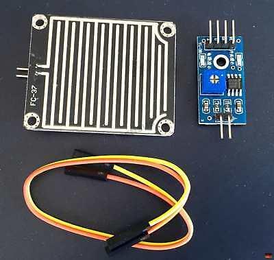 Regensensor Regen erkennen Raspberry Pi YL-38 FC-37 Arduino Wasser Sensor 2