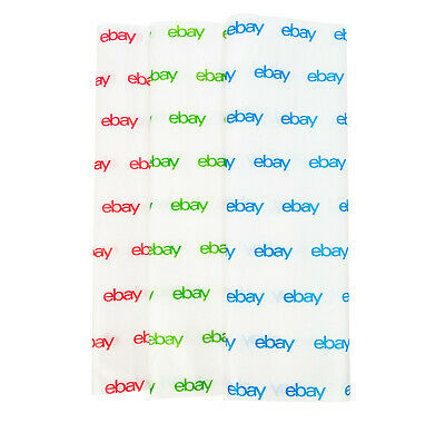 "NEW EDITION Red, Green, and Blue eBay-Branded Tissue Paper Multi-Pack 20"" x 30"" 3"
