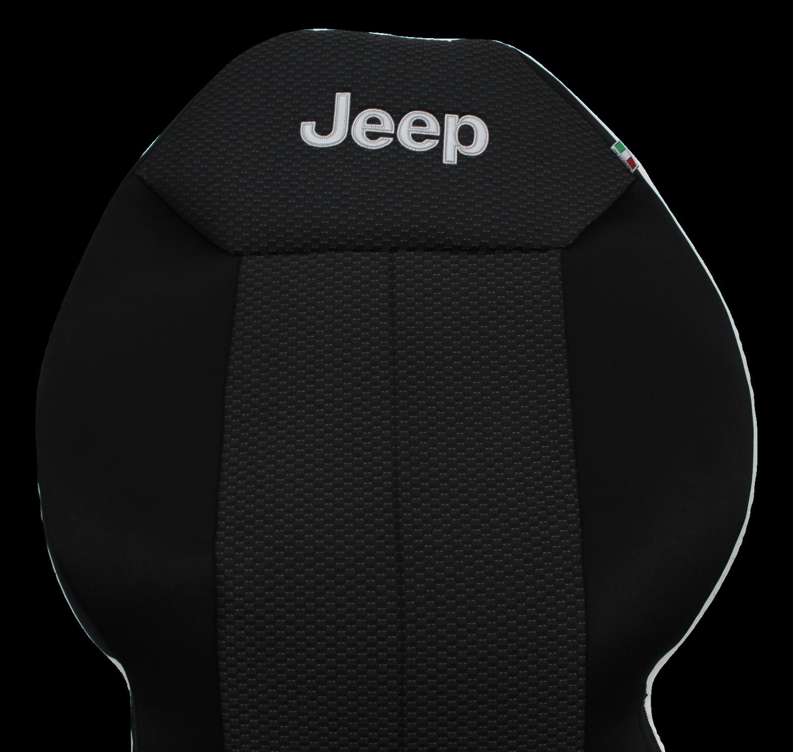 FODERE COPRISEDILI Jeep Renegade SU MISURA! Foderine RENEGADE COMPLETE Nero 38 2