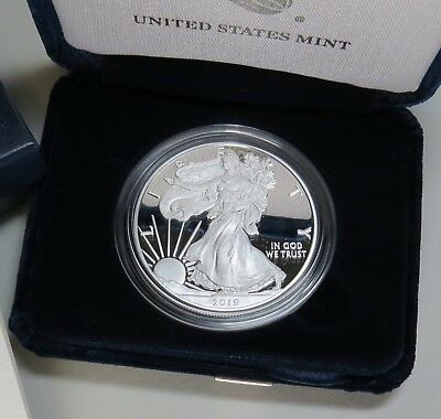 2019-W AMERICAN SILVER EAGLE PROOF w/BOX+COA BRAND NEW ~ ON HAND READY TO SHIP! 6