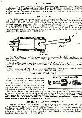 Lauson Gas Engine Motor Instruction Manual Parts List Wico Magneto 2