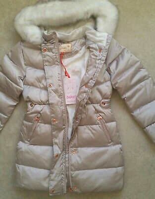 Baker by Ted BakerGirls' Ivory Padded Shower Resistant Coat Age 12 Years 8