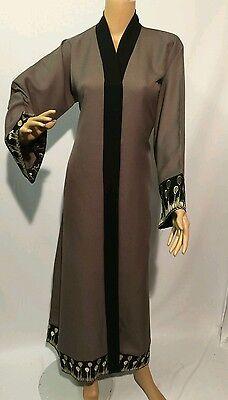Women open front abayas.saudi arabia/dubai  abaya.Neda material size 52 .54 & 56 2