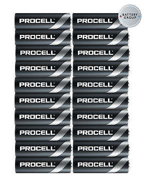 20x AA Duracell batteries Industrial Procell Alkaline MN1500 Expiry 2026 4