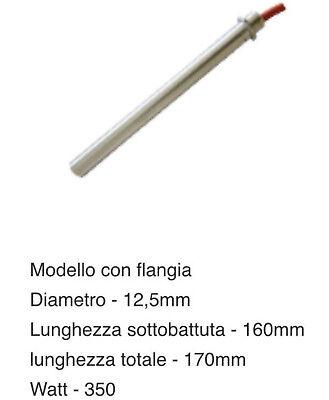 CANDELETTA RESISTENZA STUFA PELLET 350 W L 170 DIAM 12,5 mm OLIMPIA SPLENDID 2