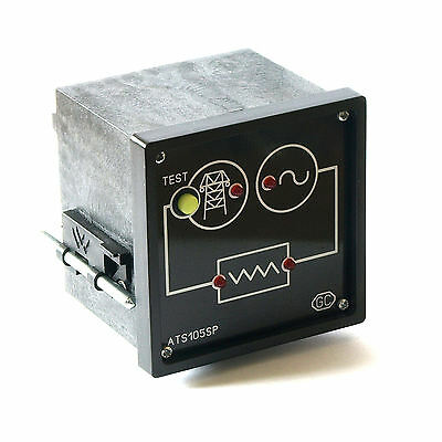 Automatic Transfer Switch Controller between mains and generator. AUTO start