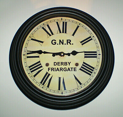 Great Northern Railway GNR Victorian Style Clock, Derby Friargate Station 2