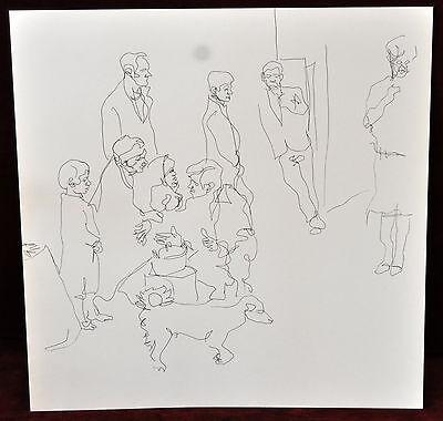 Gitanos (Somorrostro) Por Ramon Jesus Vives. Caja Con 16 Dibujos Originales 2