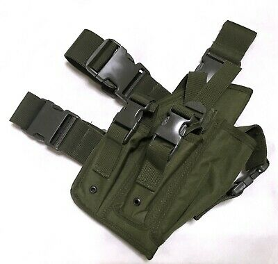 NEW MK23 DESERT Eagle Tactical Dropleg/Waist Pistol Holster OD  Green--Airsoft