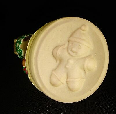 Cookie Mold Press Cutter Christmas Mini Gingerbread Man Holiday Baking