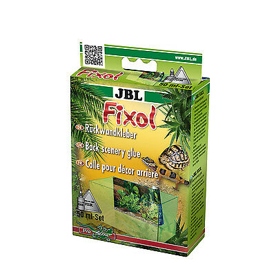 JBL FIXOL  Aquarien-Rückwand-Kleber farblos für Fotorückwände