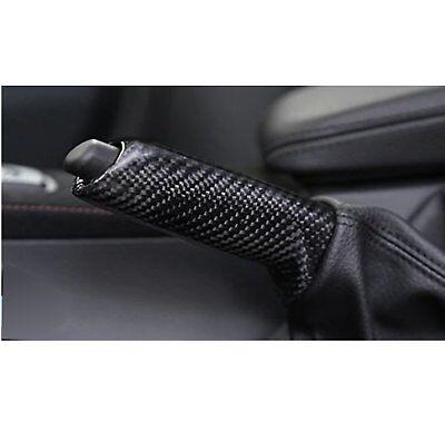 manchon levier de frein à main fibre carbone pour bmw e36 e39 e46 e60 e90 e92 4