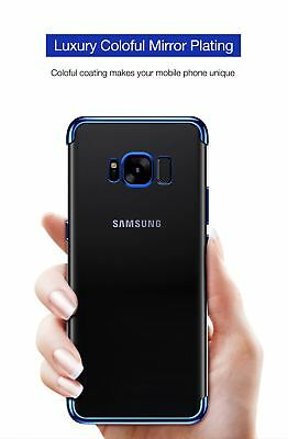 Luxury Ultra Slim Shockproof Silicone Clear Case Cover For Samsung Galaxy S8 S9 3
