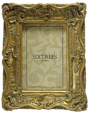 Ornate Vintage Antique Shabby & Chic Photo Frame 4 Colours  4x4 6x4 7x5 8x6 10x8 2