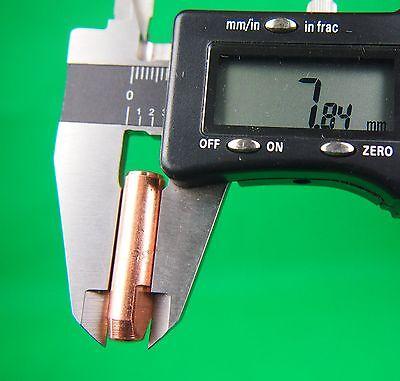 25Pcs 0.9mm MIG Tip  #7489 Bernard Style Mig Tips Push & Twist  32L x 7.9od 2