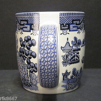 6 A Set Of Six Willow pattern Dream Mugs  by Churchill England 4