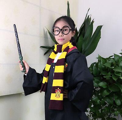 Harry Potter Manteau écharpe Krawatt Gryffindor Slytherin Ravenclaw Cape Costume 10