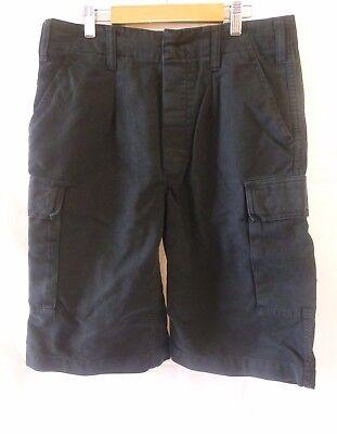 BW Bermuda Moleskinhose Shorts kurze Hose Neu Original Leo Köhler S-4XL Schwarz