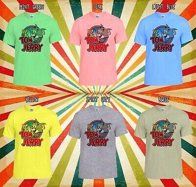Disney Tom /& Jerry Men Women Unisex T Shirt T-shirt Vest Baseball Hoodie 652