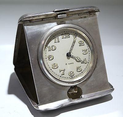 BLACKINTON Sterling Silver Travel Clock Concord Watch HIALEAN Club Chas Shelden 2