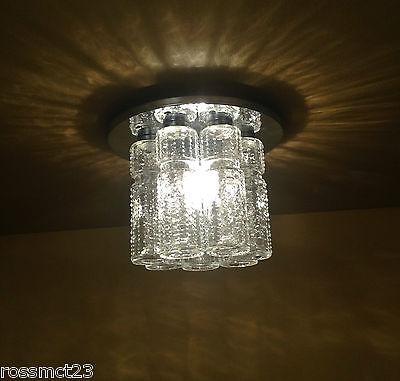 Vintage Lighting 1970s foyer glam by Lightolier 3