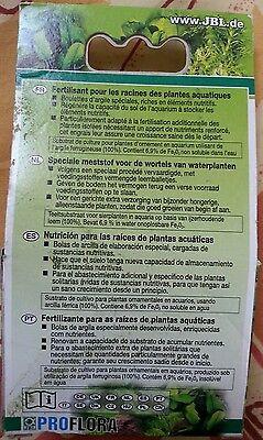 Fertilisant JBL 7 boulettes Proflora 2