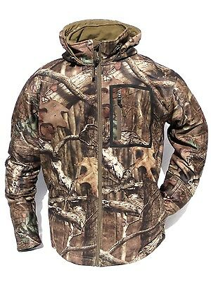 1a304bade185c ... Cabela's Men's Waterproof Mossy Oak INFINITY Ultra Quiet Hooded Hunting  Jacket 3