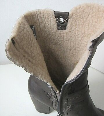 Tamaris Stiefel Stiefelette cigar comb Gr. 41 ankle boots